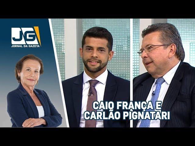 Caio França, Dep. Estadual (PSB/SP) e Carlão Pignatari, Dep. Estadual (PSDB/SP), sobre a Alesp