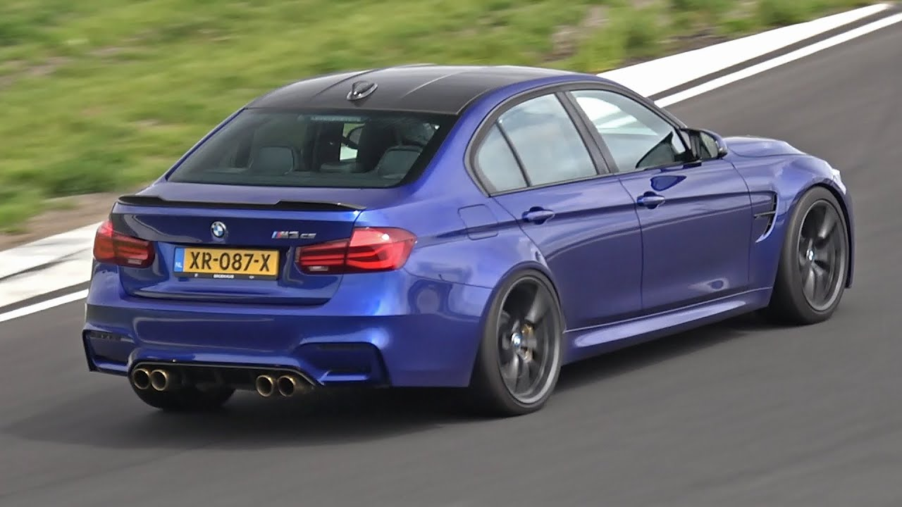 BMW M3 F80 CS with iPE Innotech Performance Exhaust System!