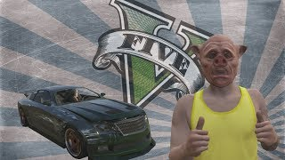 GTAV Online Funny Moments: Car Horns From Hell, Wildcat