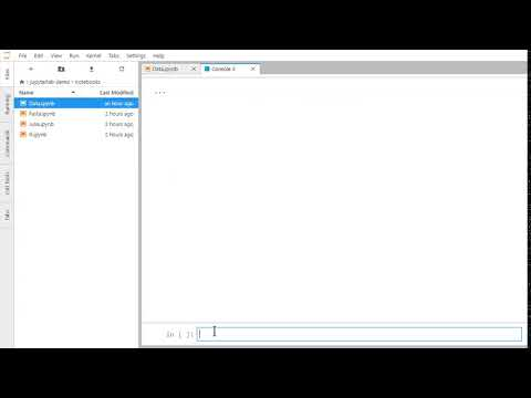 JupyterLab Create Code Console - YouTube