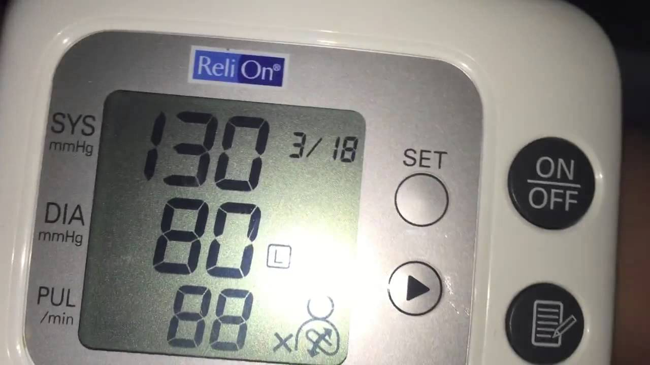 Relion Vs Omron Wrist Blood Pressure Monitor Youtube