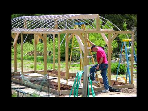 High Wind & Heavy Snow Load Greenhouse (FREE PLANS)