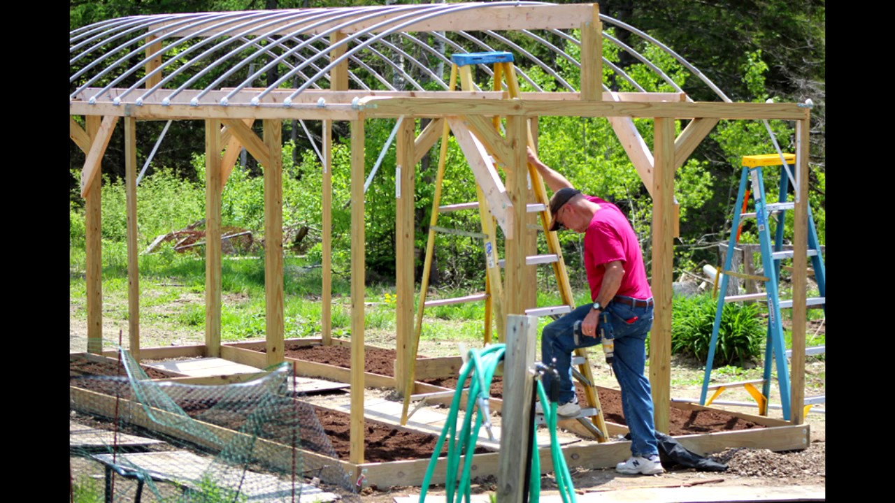 High Wind Heavy Snow Load Greenhouse Free Plans