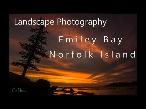 Landscape Photography - Awesome sunset at Emily Bay -Norfolk Island-Part 1