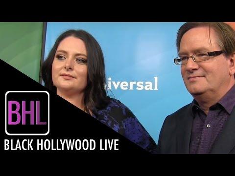 Lauren Ash & Mark McKinney  'Superstore'  NBC Universal Press Tour 2016  Black Hollywood Live