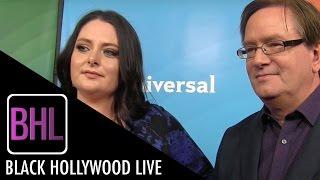Lauren Ash & Mark McKinney - 'Superstore' | NBC Universal Press Tour 2016 | Black Hollywood Live