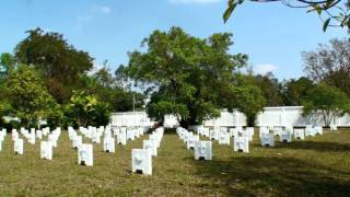 Laos: Vientiane - The French Military Cemetery