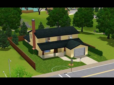 Building The American Dad House In Sims 3 YouTube