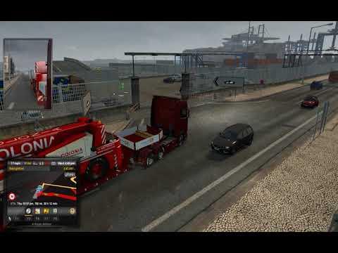 Euro Truck Simulator 2 Grimsby Ferry Bug?