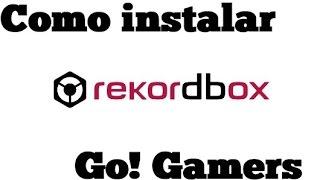 Como Instalar el RekordBox 3.1.0