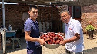 【食味阿远】400多买了25斤小龙虾,阿远做一天麻辣小龙虾,可是下大工夫了 | Shi Wei A Yuan