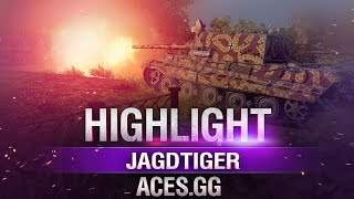 Медаль Дедпула. Jagdtiger в World of Tanks!
