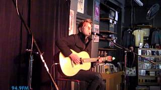 David Poe - Lonely Like Me (acoustic KRVB Record Exchange)