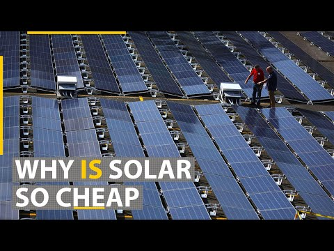 How solar energy became the cheapest in history