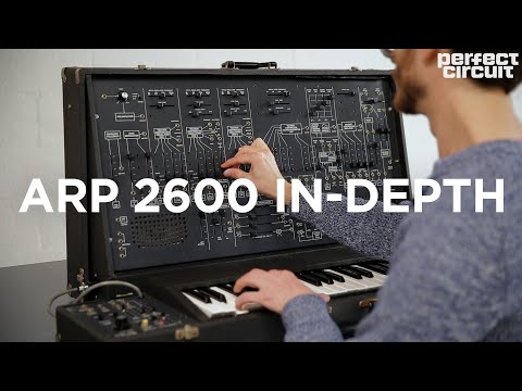 In-Depth with a Vintage ARP 2600 Semi-Modular Analog Synthesizer