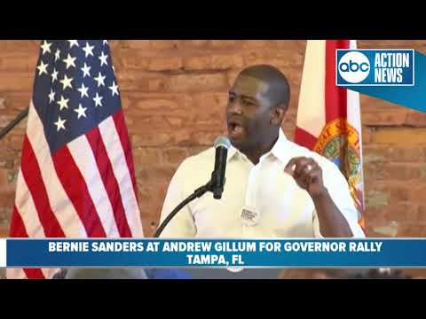 Andrew Gillum speaks at his rally for governor - YouTube