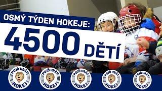 Lednový Týden hokeje přivedl na zimní stadiony 4500 dětí