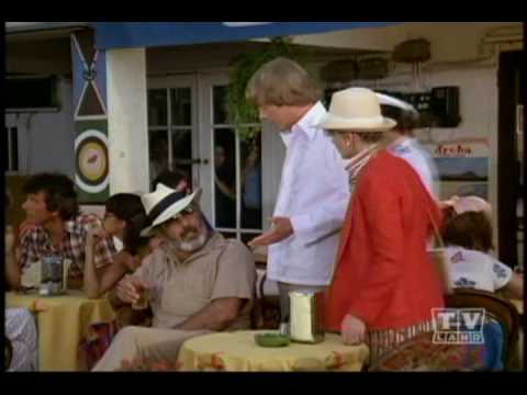 Pernell Roberts as Brian Mallory on Love Boat clip 3