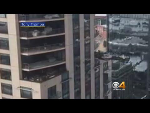 Dr. Taco - Scaffolding Breaks- Crashes Into Denver Hotel