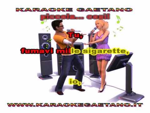 Fred Buscaglione  Eri Piccola Cosi Karaoke