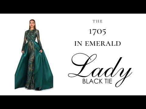 portia-and-scarlett-style-1705-long-sleeve-emerald-lady-black-tie