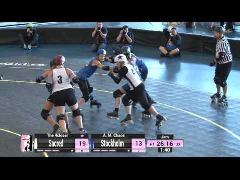 Game 14: Stockholm Roller Derby v Sacred City Derby Girls