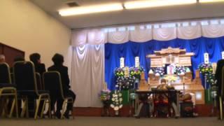 近衛麗衣の父・腰塚彰が急死」 2015年1月20日 告別式.