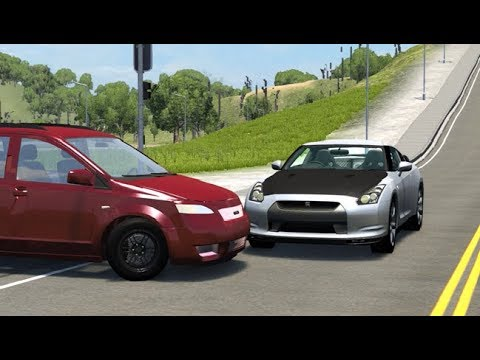 Realistic Crashes Compilation 4 - BeamNG. Drive