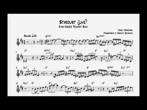 Ryan Kisor - Stardust Trumpet Solo (Live)