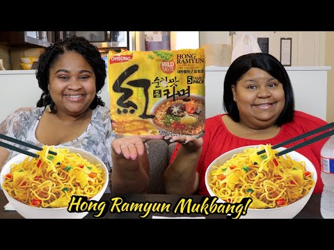 OHSUNG HONG RAMYUN MUKBANG WITH MISS C'S CORNER