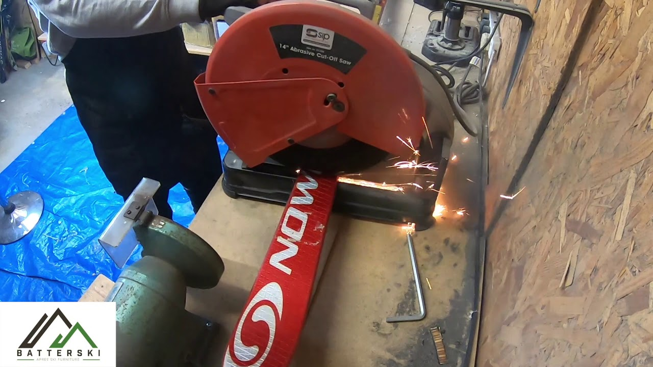 How we build our ski bottle openers