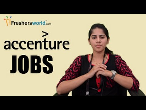 Accenture Recruitment 2017 - IT Jobs, Walkins,Campus placements,careers - 동영상