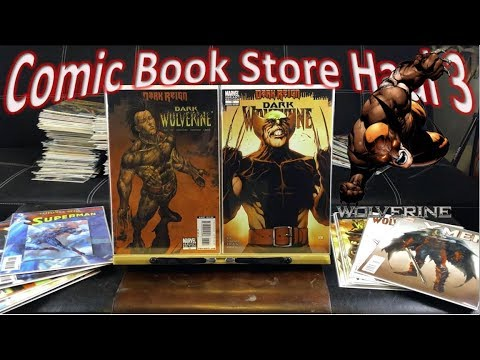 Comic Book Store Haul 3 | Key Variant Covers!
