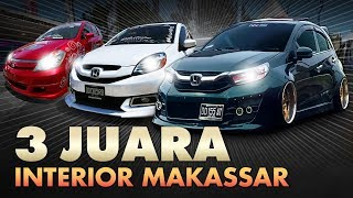 Tiga Juara Kontes Interior Mobil Makassar