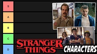 Stranger Things Characters Tier List