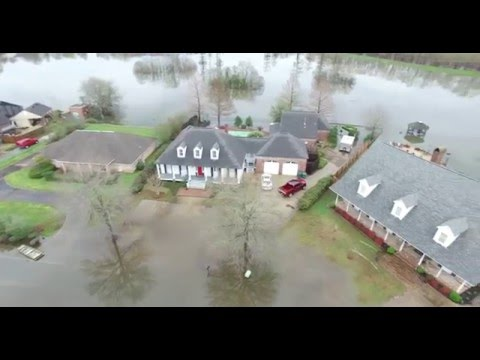 Deborah Drive Flooding Monroe Louisiana March 11, 2016