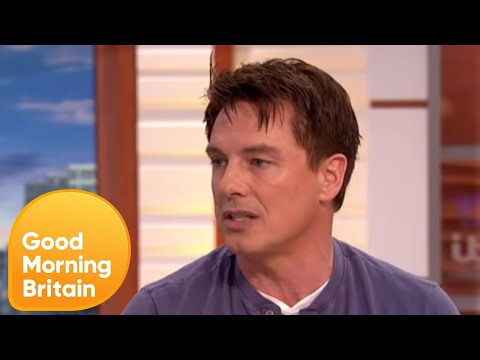 John Barrowman Defends Homeless Man Against Target  Good Morning Britain