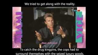 Don Johnson - Philipp Michael Thomas - Saundra Santiago - Small Review To Miami Vice Tv Times