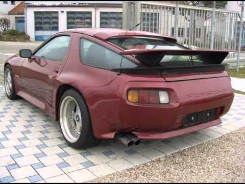 Porsche Strosek 928 S 4 7 310hp Widebody Youtube