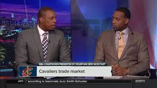 Cavaliers Deadline Trade Possibilities   NBA Countdown