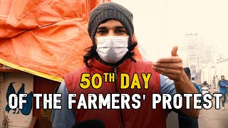 50th Day of the Farmers' Protest ft. Samdish