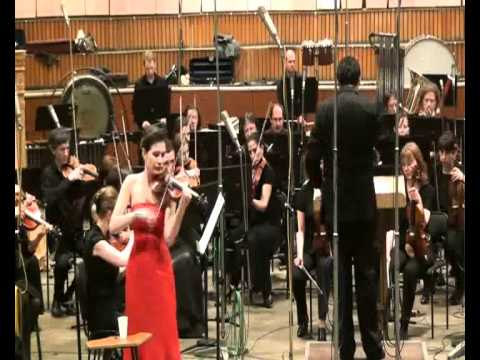 Anastasia Petrunina plays Shostakovich  1st violin Concerto 4th mvmn  Burlesque
