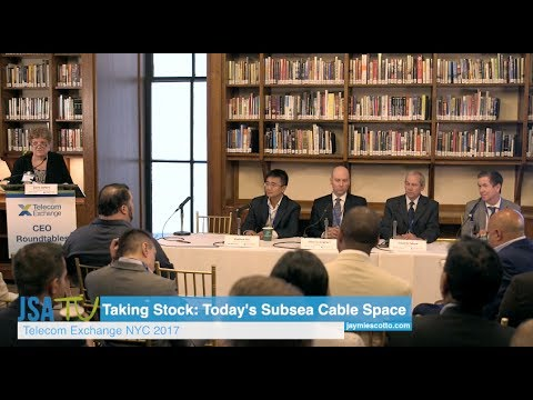 TEX NYC 2017: CEO Roundtable - Taking Stock-Today's Subsea Cable Space