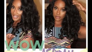 Virgin Brazilian Body Wave full lace wig with WowAfrican