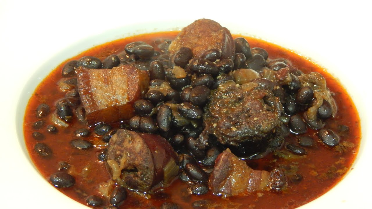 receta f cil de jud as negras a la vasca youtube