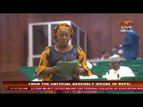 From The National Assembly (House of Representatives) 23/11/17
