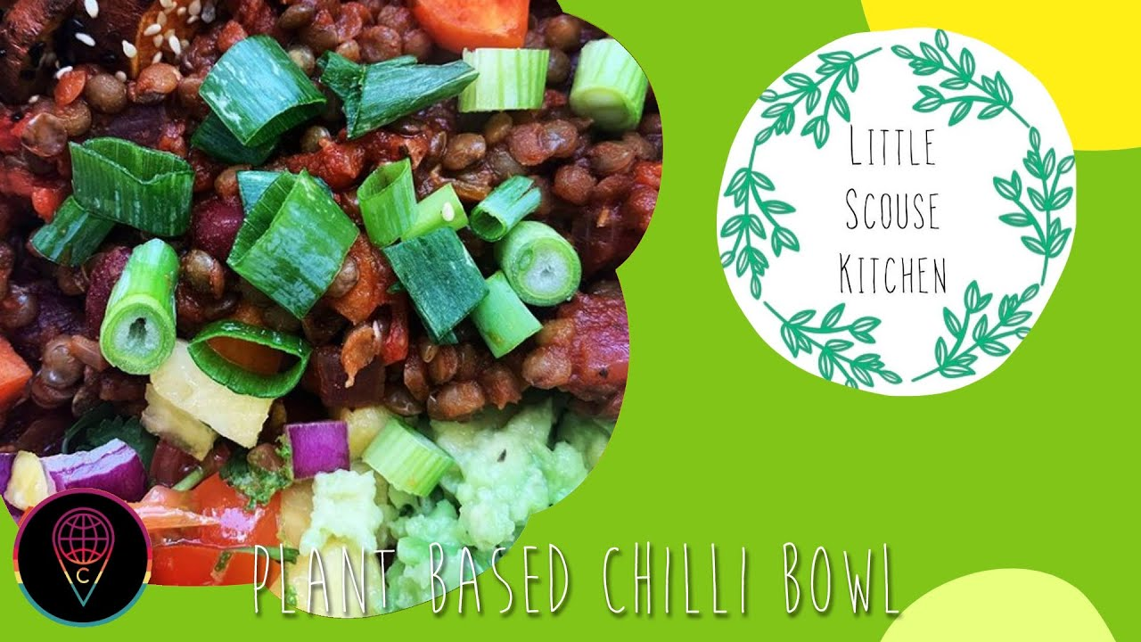 How to Make a Plant Based Chilli Bowl