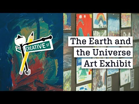 Creative Street's 1st Art Exhibit Featuring Artworks of Children of Manila • August 26, 2018