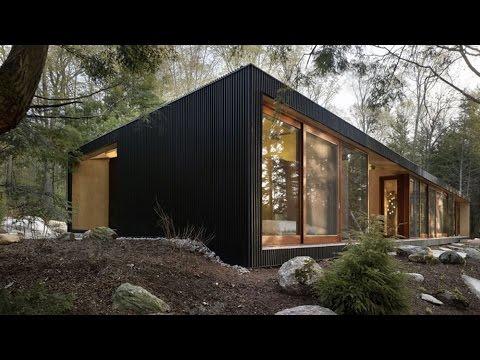 Как построить каркасный дом за 162 428 руб.  Дом для охоты и рыбалки