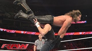 Team Reigns vs. Team Rollins - 5-on-5 Survivor Series Elimination Match: Raw, Nov. 2, 2015